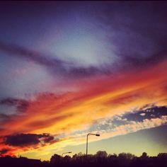 Cardiff at dusk
