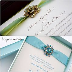 Gorgeous Wedding invitations. For who? I don't know...