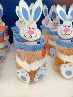 Pedagogy with love: EASTER 2017 - Einrichtungsstil Bunny Crafts, Easter Crafts For Kids, Preschool Crafts, Summer Camp Crafts, Camping Crafts, Plastic Bottle Crafts, Diy Ostern, Diy Gifts For Kids, Foam Crafts