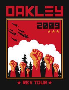 commercial oakley revolution tour