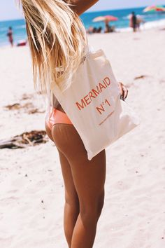 mermaid N°1 beach tote yes please! (THIS BETTER BE UNDER MY CHRISTMAS TREE)