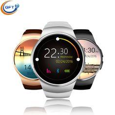 Gft kw18 smart watch android sim tragbare geräte uhr bluetooth elektronik telefon smartwatch android gesundheit mp3-player uhren //Price: $US $54.89 & FREE Shipping //     #clknetwork