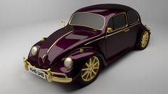 Volkswagen Beetle 1300 3D Model .max .c4d .obj .3ds .fbx .lwo .stl @3DExport.com by Markes21