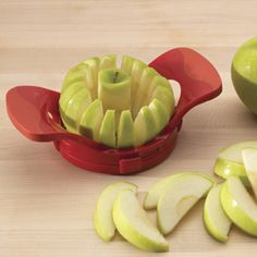 Love the thin snack slices that Dial-a-Slice Adjustable Apple Slicer creates.