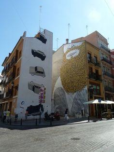 blu & escif @ Valencia, Spain  30sec walking from my flat. *___*