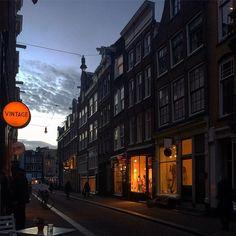 #luzes do #pordosol em #Amsterdam  ___________________________________________ #Amsterdam #amsterdamcity #amazing #sunset #gratidao #goodvibe #felizdavida #eurotrip #dicasdeviagem #europa #europe #ferias #holida #holanda #holland #inverno #maravilhoso #relax #tramonto #traveling #viagem #viajar #vacanze #viajando #viajante