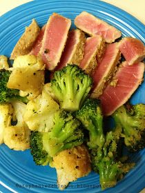 Zahlmann Zoo Crew: Lean and Green: Seared Ahi Tuna in Sesame Sauce