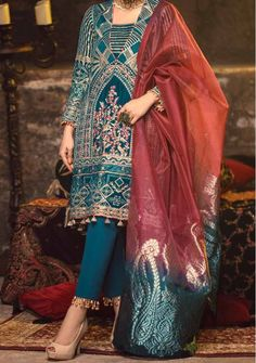 Velvet Pakistani Dress, Pakistani Dresses, Model Pictures, Dress Brands, Sari, Luxury, Shopping, Clothes, Collection