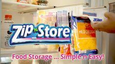Zip n Store… Food Storage, Simple and Easy! by Len Kensey —Kickstarter