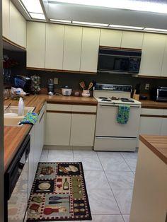 I am ready to cook :) haha nice big space :)