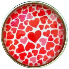 #5464 Valentine Hearts Snap-20mm for Snap Jewelry