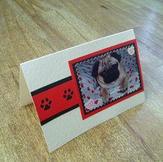 Pug Love Card