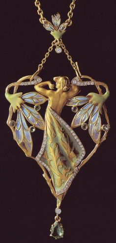 Spanish jewelry in Art Nouveau style. Luis Masriera (1872-1958)