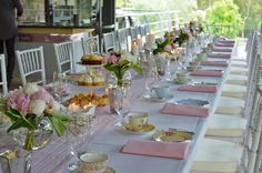 baby shower tea party table setting | Afternoon tea parties, afternoon tea party perth | Antiquitea ...