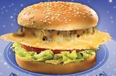 """Ruby's Diner Reveals a Crispy """"Saturn"""" Cheeseburger"""