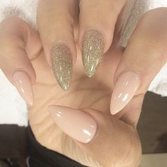 Love these nails. Nude