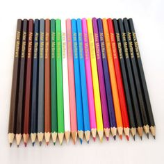 Personalised Pencil And Crayon Set