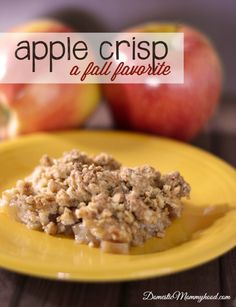 Heavenly Apple Crisp