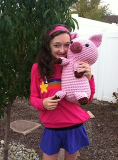 images about Porquinhos Crochet Pig, Pigs and