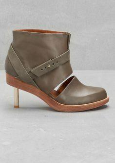 Leather ankle boots   Leather ankle boots   & Other Stories