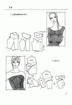 Chinese method of pattern making- Darts on a bodice - Svet Lana - Álbumes web de Picasa