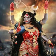 Article Accor ding to the Mahanirvana Tantra, since it is Kala or time who will devour everything at the dissolution of… Maa Kali Images, Shiva Parvati Images, Durga Images, Krishna Images, Kali Shiva, Shiva Hindu, Hindu Deities, Kali Puja, Jay Maa Kali