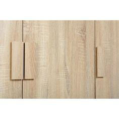 Cambourne 3 Door Wardrobe in Sonoma Oak Effect Veneer
