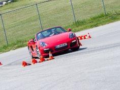 Porsche World 2013 - slalom