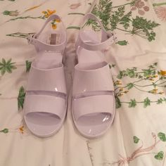 Classic Jelly Heel Brand new with tags, classic jelly heel from AA!! :-) American Apparel Shoes Sandals