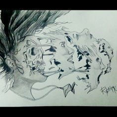 This painting has lot to say #mysketch
