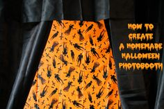 How to Create a Homemade Halloween Photobooth