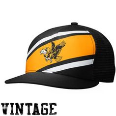 Nike Iowa Hawkeyes True Retro Snapback Hat - Black/Gold