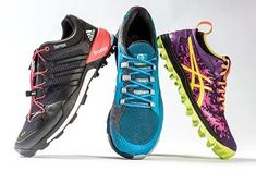 The best new trail-running shoes for spring 2015 #trailrunningshoes