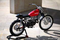 Un Pneu Dans La Tombe: Suzuki TS 250 1976 : GÂÂÂÂÂZ Bertrand !