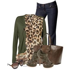 The Envious Leopard, created by stylesbyjoey on Polyvore