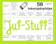 Juf-Stuff: Gek op tekenen? Check this out!