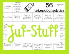 Juf-Stuff: Gek op tekenen? Check this out!