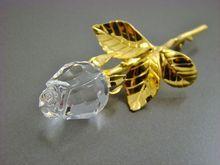 Swarovski Large Crystal Rose Gold Plated Brooch /89