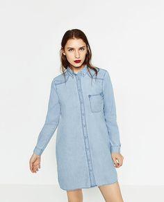Image 2 de CHEMISE EN JEAN XL de Zara
