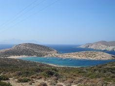 Kalotaritissa beach - Amorgos island, the Cyclades Greek Islands, Beautiful Beaches, Greece, Landscape, Water, Outdoor, Travel, Greek Isles, Greece Country