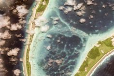 Diego Garcia, British Indian Ocean Territory - Earth View is a collection of the most beautiful and striking landscapes found… Google Earth View, Diego Garcia, British Indian Ocean Territory, Aerial Photography, Beautiful, Cthulhu, Landscapes, Science, Collection