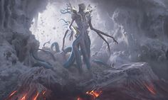 Post with 4641 votes and 84338 views. mtg Eldrazi card art is truly underrated Dark Fantasy, Fantasy Art, Fantasy Demon, Beast Creature, Mtg Art, Dungeons And Dragons Homebrew, Alien Art, Fantasy Monster, Monsters
