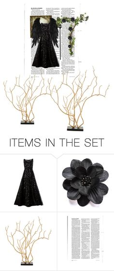 """""""Heaven's Fallen Angel"""" by pipergardens ❤ liked on Polyvore featuring art, angel, heaven, fashionset, artset and fallen"""
