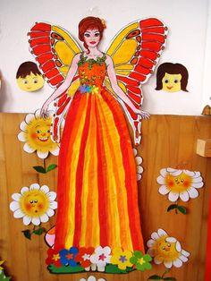 Fairy Princesses, Disney Characters, Fictional Characters, Disney Princess, Spring, Centre, Crafts, Fabric Decor, Early Education