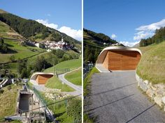 Punibach Hydroelectric Power Station by monovolume architecture