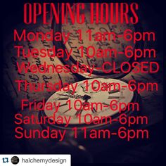 As you guys are probably aware now we have a vendor space with the multi vendor set up @halchemydesign in Glebe. Here are their new trading hours if you are ever thinking of popping in.  #Repost @halchemydesign with @repostapp.   New store opening hours  As any small business owner knows we work pretty much 24/7.  Murray and I have decided to start closing on Wednesdays so that we have the time to hunt find and restore. Plus the occasional sleep in... #supportlocal #supportsmall #lovelocal…