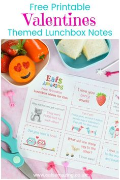 FREE printable Valentines Lunch Notes for Kids - fun love themed jokes fun facts and messages for a cute lunch box surprise this Valentines Day Lunchbox Notes For Kids, Lunch Box Notes, Valentine Jokes, Valentines Day Food, Easy Meals For Kids, Kids Meals, Cute Lunch Boxes, Food Art For Kids, Creative Christmas Gifts