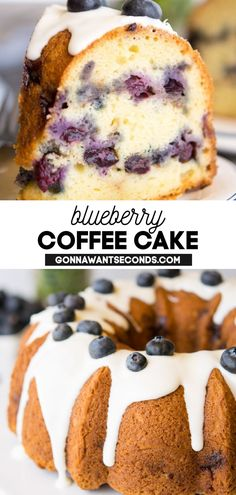*NEW* With our blueberry coffee cake it's hard to decide which is most pleasing: the fancy cinnamon layers of tender moist cake, its subtle sugary glaze, or the warm chats it invites! Coffee cake is the South's great conversation starter. #Blueberry #Blueberries #CoffeeCake #BlueberryCake #BundtCake #SouthernRecipes #Desserts #Cakes Blueberry Cake, Blueberry Recipes, Köstliche Desserts, Delicious Desserts, Cinnamon Desserts, Cake Recipes, Dessert Recipes, Fondant Recipes, Frosting Recipes