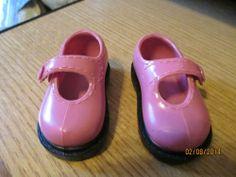 "Pink Doll Shoes-Doc Martin Like 3 1/4"" Battat"