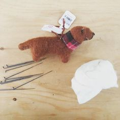"""25 Likes, 3 Comments - 🐶 Canis Picta 🎨 (@canispicta) on Instagram: """"My needles finally arrived! Now I can begin...PROJECT: PIEBALD 🐶 #Dachshund #dachshunds…"""""""
